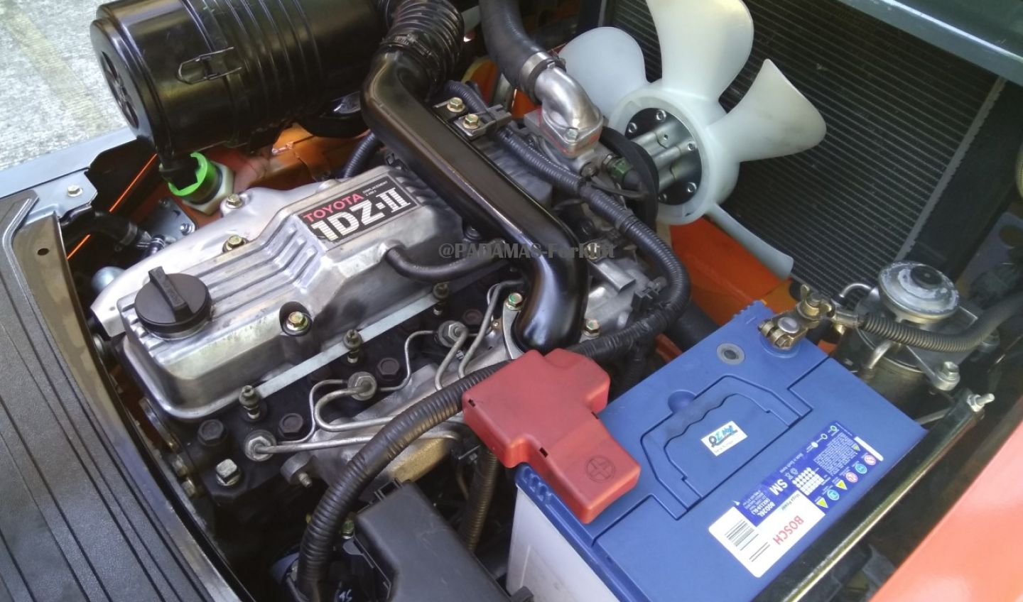 IN STOCK TOYOTA ENGINE 1DZII eng